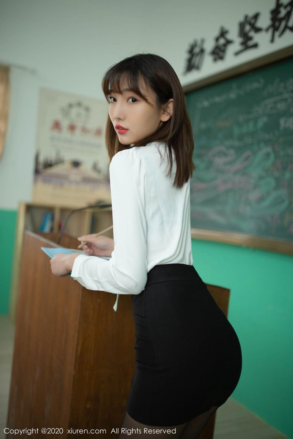 福利美图 - 第2343期陆萱萱写真 -奇智信息